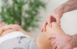 массаж коленной чашечки