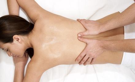 массаж поясницы