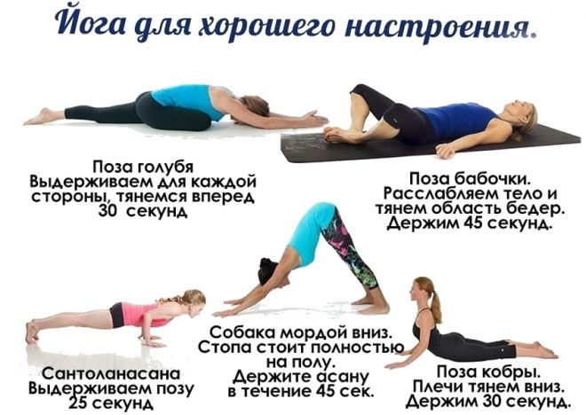 популярные упражнения йоги
