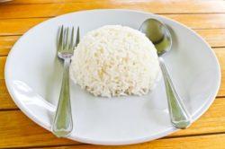 рис в торелке