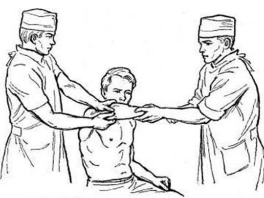 вправление локтевого сустава