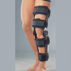 бандаж на колено с ребрами жёсткости