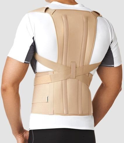 У меня остеохондроз грудного отдела позвоночника корсеты