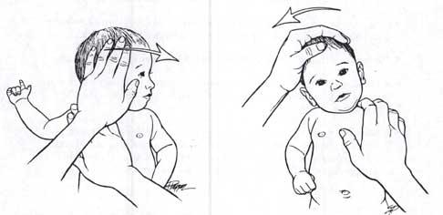 массаж шеи у ребенка