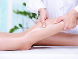 массаж голени