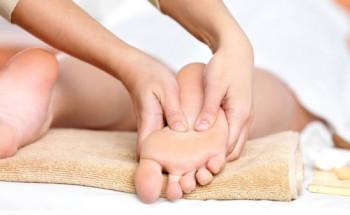 массаж лодыжки